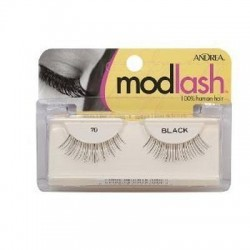 Andrea mod strip eye lash pair, style 70 - 4 ea