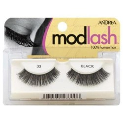 Andrea mod lashes style 33 black - 2 ea