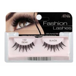 Ardell fashion lashes, demi black 102 - 4 ea