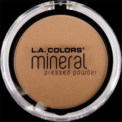 LA colors mineral pressed powder true beige - 3 ea