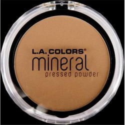 LA colors mineral pressed powder classic tan - 3 ea