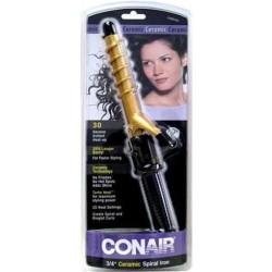 Conair instant heat spiral curling iron - 1 ea