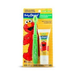 Orajel baby tooth/gum cleanser, apple banana - 6 ea