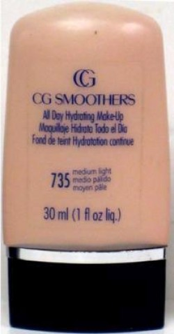 Covergirl smoothers liquid make up, medium light 735 -  2 ea