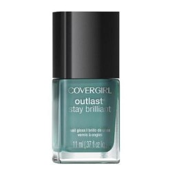 Covergirl outlast stay brilliant nail gloss, mint mojito - 2 ea