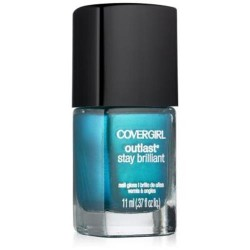 Covergirl outlast stay brilliant nail gloss, constant caribbean - 2 ea