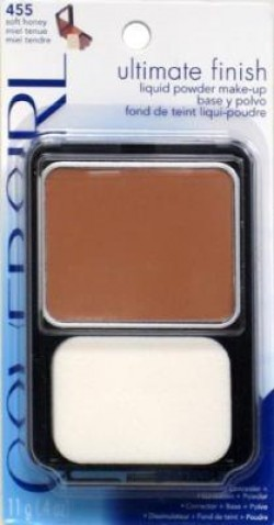 Covergirl ultimate finish liquid powder makeup, soft honey #455 - 2 ea