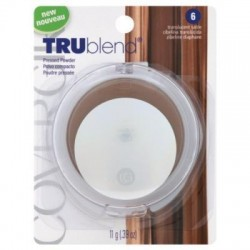 Covergirl trublend pressed powder, translucent sable #6 - 2 ea
