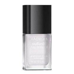 Covergirl outlast stay brilliant nail gloss, crystal clear - 2 ea