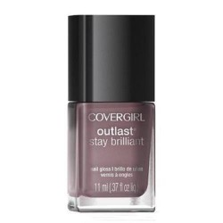 Covergirl outlast stay brilliant nail gloss, smokey taupe - 2 ea