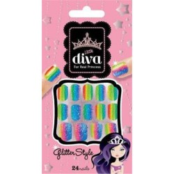 Kiss broadway nails little diva gel candy crystal persuasion - 2 ea