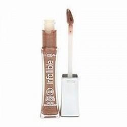 Loreal Infallible Never Fail Lip Gloss, 825 Dulce De Leche - 2 ea