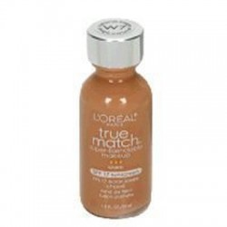 Loreal true match super-blendable liquid makeup, warm caramel beige - 2 ea