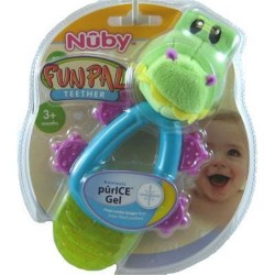 Nuby coolbite fun pal teether - 4 ea