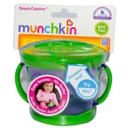 Munchkin snack catcher for age 12 months plus - 2 ea