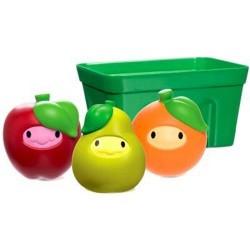 Munchkin squirtin strain fruit basket bath toy - 2 ea
