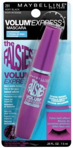 Maybelline the falsies volume express waterproof eye mascara, very black - 6 ea