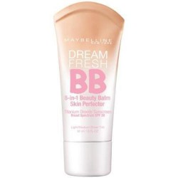 Maybelline dream fresh bb beauty balm skin perfector, light medium - 2 ea