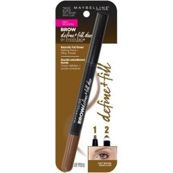 Maybelline eye studio eyebrow define plus fill duo, soft brown - 2 ea