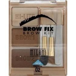 Milani brow fix eyebrow kit, medium - 3 ea