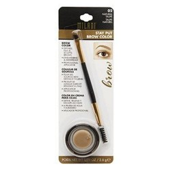 Milani stay put brow color, natural taupe - 3 ea