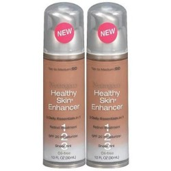 Neutrogena healthy skin enhancer, tan to medium - 2 ea