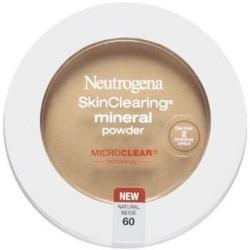 Neutrogena skinclearing mineral powder, natural beige - 2 ea
