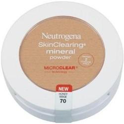 Neutrogena skinclearing mineral powder, honey beige - 2 ea
