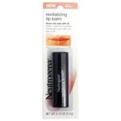 Neutrogena revitalizing lip balm petal glow - 2 ea
