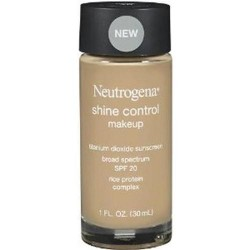 Neutrogena Shine Control Makeup Sunscreen, fresh beige, SPF 20 - 2 ea