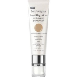 Neutrogena healthy skin anti aging perfector, tan to medium - 2 ea