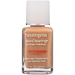 Neutrogena skinclearing oil free liquid makeup, caramel - 2 ea