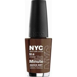 Neutrogena new york color minute quick dry nail polish, brownstone - 2 ea