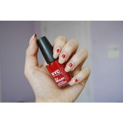 New york color in a minute quick dry nail polish rivington red - 2 ea