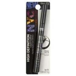 New york color liquid eyeliner extreme black - 2 ea
