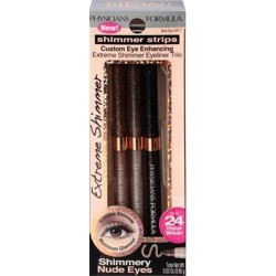 Physicians Formula Shimmer Strips Trio, Nude Eyes - 2 Pack