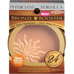 Physicians formula bronze booster bronzer and highlighter, light to medium - 2 ea