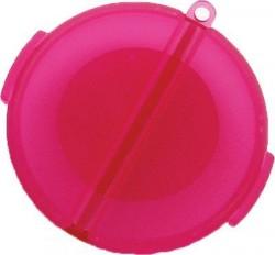 Round pill case - 12 ea