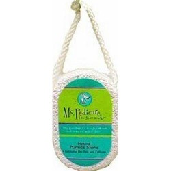Ms.Pedicure Natural Pumice Stone For Smooth Skin - 4 ea
