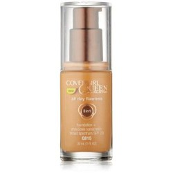 Covergirl queen collection all day flawless foundation  brulee - 2 ea
