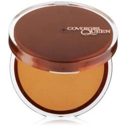 Covergirl queen collection lasting matte pressed powder, golden - 2 ea
