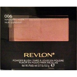 Revlon smooth on powder blush, naughty nude - 2 ea