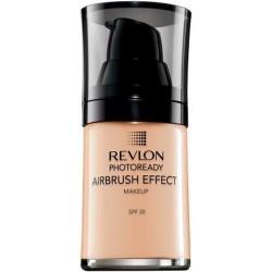 Revlon photoready foundation airbrush effect makeup, natural beige - 2 ea