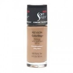 Revlon colorstay makeup with softflex for combination / oily skin, early tan #320 - 2 ea