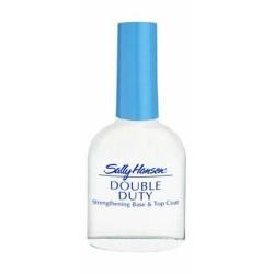 Sally hansen double duty nail polish base and top coat - 4 ea