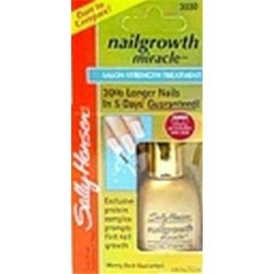 Sally hansen nail growth miracle salon strength treatment - 2 ea