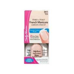Sally hansen hard as nails french manicure, nearly nude - 2 ea