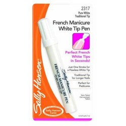 Sally hansen french manicure white tip pen - 2 ea
