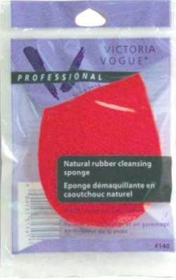 Victoria vogue red rubber sponges - 6 ea