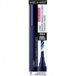 Wet n wild proline graphic marker eyeliner, airliner blue - 3 ea